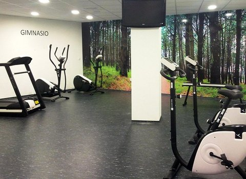 Keep fit in our gym